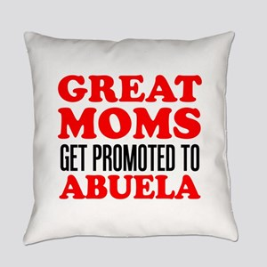 Promoted To Abuela Drinkware Everyday Pillow