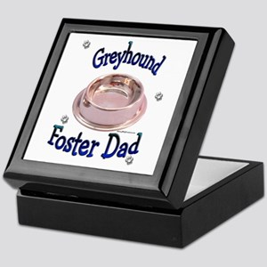 Foster Dad Bowl Keepsake Box