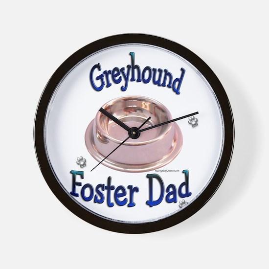Foster Dad Bowl Wall Clock