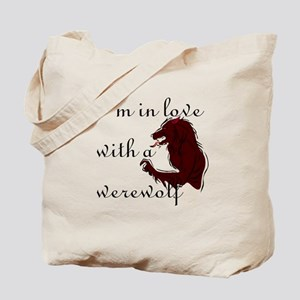 I'm in love with a werewolf Tote Bag