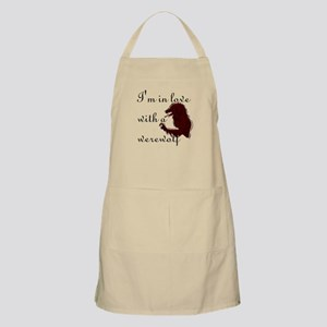 I'm in love with a werewolf BBQ Apron