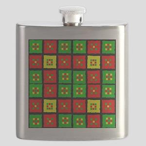 African American Flask
