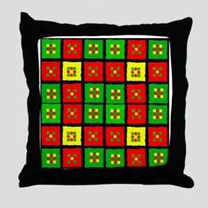 African American Throw Pillow