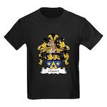 Glasser Family Crest Kids Dark T-Shirt