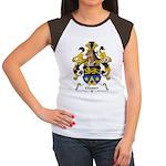 Glasser Family Crest Women's Cap Sleeve T-Shirt
