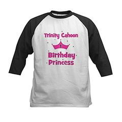 Custom - First Birthday - Tri Kids Baseball Jersey