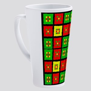 African American 17 oz Latte Mug