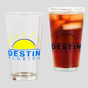 Summer destin- florida Drinking Glass