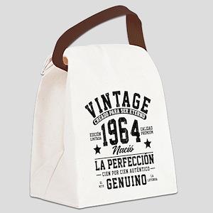 Vintage 1964 La Perfeccion Canvas Lunch Bag