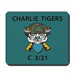 Charlie Tigers Mousepad