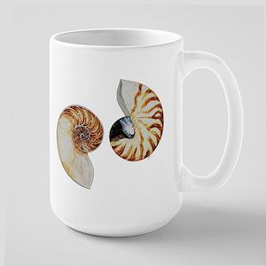 Chambered Nautilus Large Mug