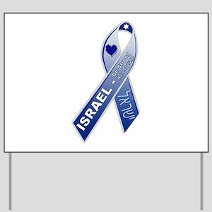 Blue Ribbon Campaign Yard Sign