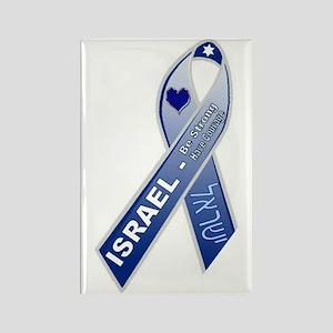 Blue Ribbon Campaign Rectangle Magnet