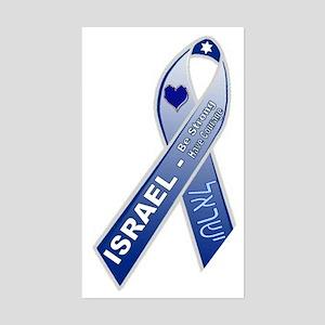 Blue Ribbon Campaign Rectangle Sticker