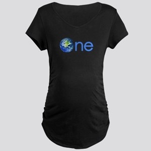 One Earth Maternity Dark T-Shirt