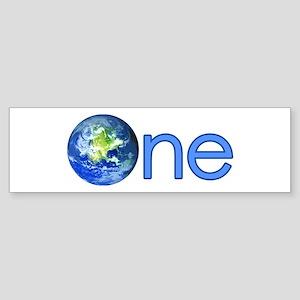 One Earth Bumper Sticker