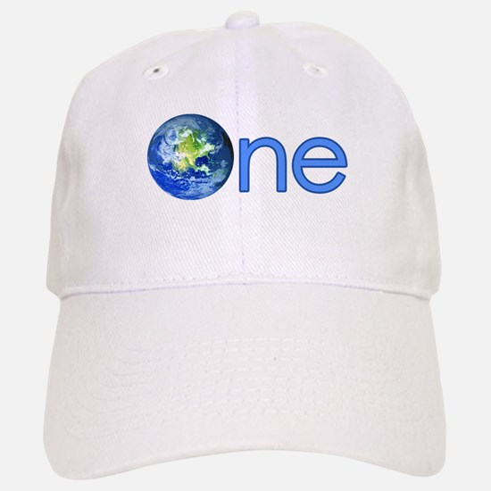 One Earth Baseball Baseball Cap
