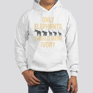 Only Elephants Should Wear Ivory! Sweatshirt