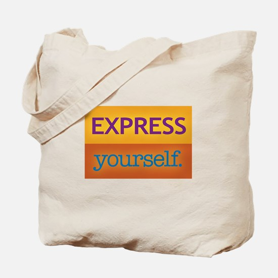 ExpressYourself!! Tote Bag