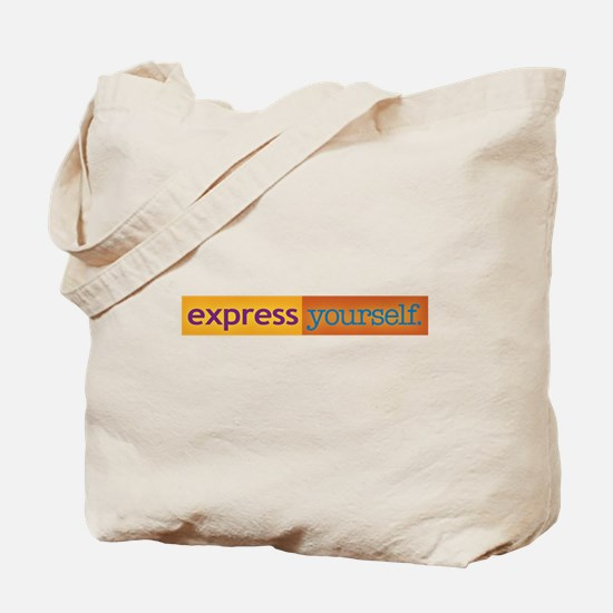 Express Yourself widely! Tote Bag