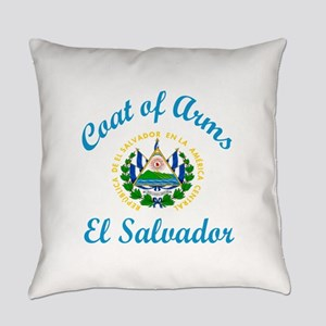 Coat Of Arms El Salvador Country D Everyday Pillow