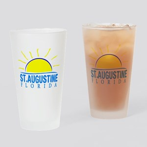 Summer st. augustine- florida Drinking Glass