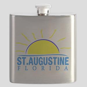 Summer st. augustine- florida Flask
