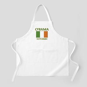 Obama Vote Irish BBQ Apron