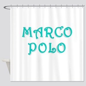 Marco Polo Shower Curtain