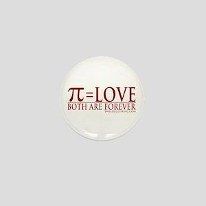 Pi = Love Mini Button