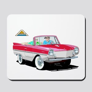 The Amphibious Car Mousepad