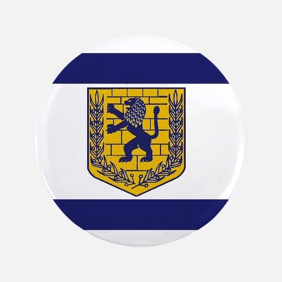 "Jerusalem Municipal Flag 3.5"" Button"
