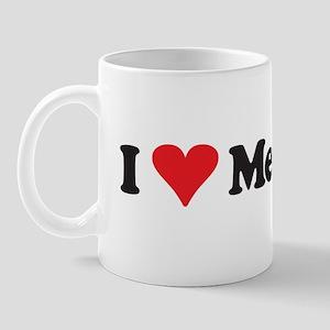I heart Meetings Mug