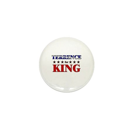 TERRENCE for king Mini Button (10 pack)