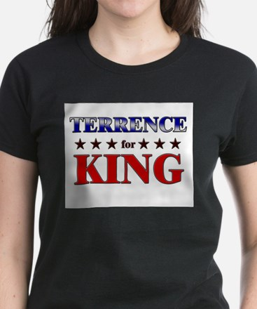 TERRENCE for king Women's Dark T-Shirt