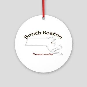 South Boston Ornament (Round)