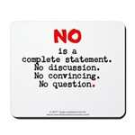 No, complete statement lg.red - Mousepad