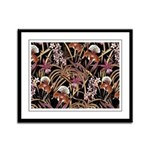 Orchid Print Framed Panel Print