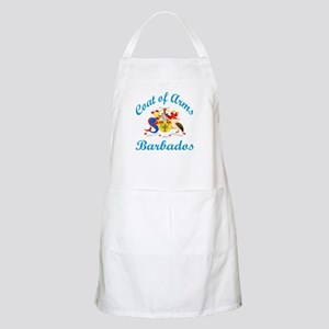 Coat Of Arms Barbados Country Designs Light Apron