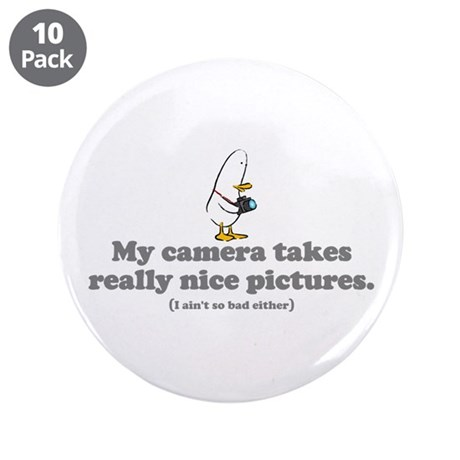 """WTD: My camera takes... 3.5"""" Button (10 pack)"""