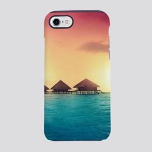 Ocean Bungalows iPhone 8/7 Tough Case