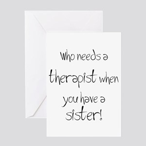 Sister greeting cards cafepress greeting card m4hsunfo