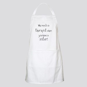 Who needs a therapist? BBQ Apron