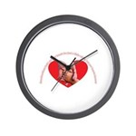 Grandmothers hold tiny hands Wall Clock