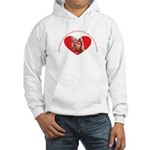 Grandmothers hold tiny hands Hooded Sweatshirt