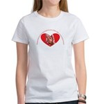 Grandmothers hold tiny hands Women's T-Shirt