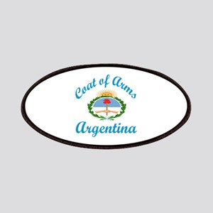 Coat Of Arms Argentina Country Designs Patch
