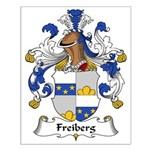 Freiberg Family Crest Small Poster
