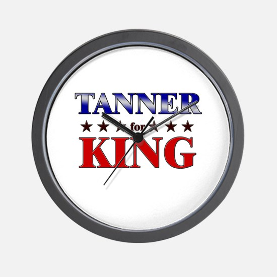 TANNER for king Wall Clock
