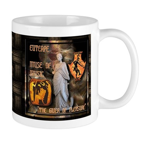 Greek Goddess Euterpe Mug